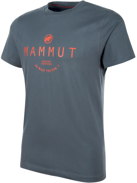 Mammut Seile - T-shirt manches courtes Homme - gris
